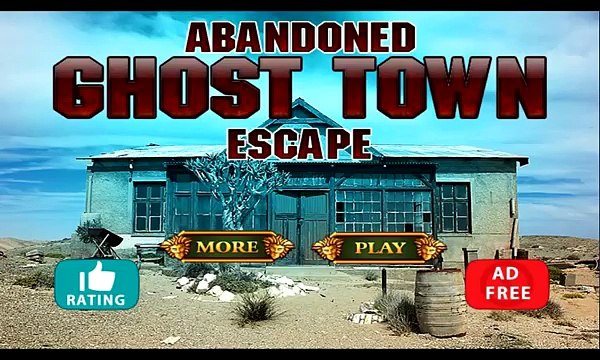 Abandoned Ghost Town Escape walkthrough First Escape Games.