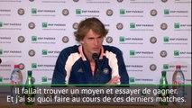 """Roland-Garros - Zverev: """"J'ai su quoi faire"""""""