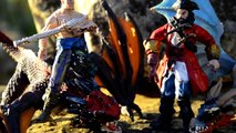 ДИНОЗАВРЫ. Битва Динозавров и Драконов. Видео про Динозавров на русском для детей Игрушки ТВ