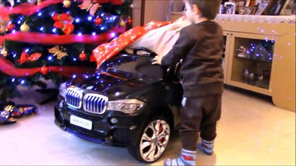 Kid Rides ELECTRIC CAR with REMOTE CONTROL similar to BMW X5: Auto elettrica per bambini