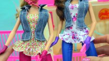Barbie Horses Really Walks Like In Real Life + Doll Swings On Saddle N Ride Horse Playset