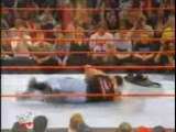 WWE - HHH invades RAW to get revenge on Taker for costing hi