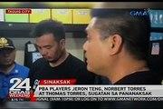 PBA players Jeron Teng, Norbert Torres at Thomas Torres, sugatan sa pananaksak