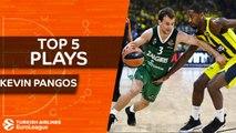 Top 5 plays, Kevin Pangos, All-EuroLeague Second Team