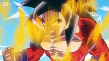 Dragon Ball AF : transformation Sangoku en Super Saiyan 5