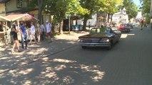 Lettonie : défilé suédois de voitures américaines des années 60 - 04/06/2018