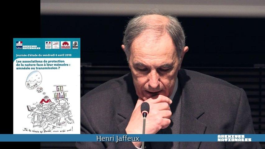 Vidéo 07 - Henri Jaffeux