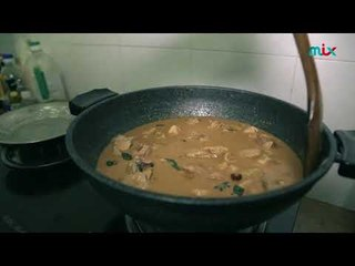 Prem cooks for Amma