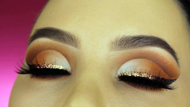 Glitter Liner Cut Crease Makeup Tutorial