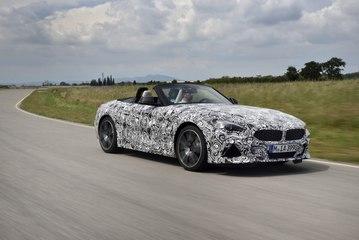 Le futur BMW Z4 déjà en action !