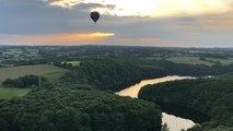 Le vol inaugural des montgolfières d'Air Nature Ballon