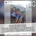 Une équipe de footballeurs américains sauve la vie d'un couple de sexagénaires