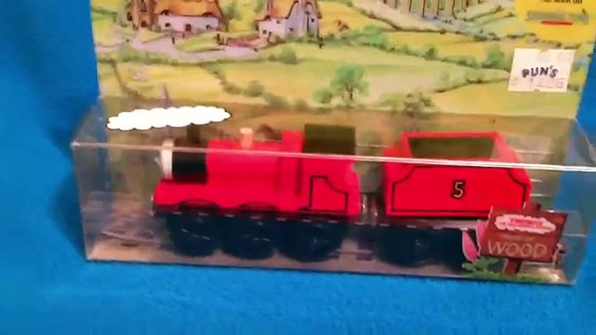 Rare 1992 NIB New James Fory Error - The Thomas The Tank Engine & Friends Wooden Railway Review