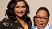 Mindy Kaling says her baby stopped crying when she realized she was in the presence of Oprah Winfrey