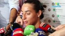 """Roland-Garros 2018 - Caroline Garcia : """"Dans le jeu j'étais à des années lumières"""""""