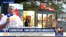 """Frédéric Roux: """"On sait que Carrefour, depuis le début, n'avait pas envie de reclasser ses salariés"""""""