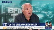 """Affaire Kohler: """"Il y a dans le dossier une attestation signée Emmanuel Macron"""", affirme Laurent Mauduit"""