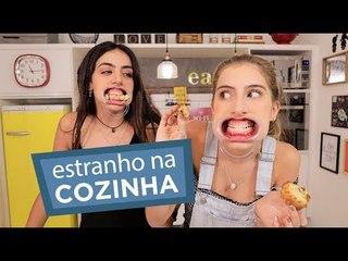 LENDO A RECEITA DE MUFFIN COM A BOCA DE CAÇAPA