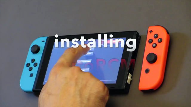 Demo  SX PRO v5.1.0 sur Switch Homebrew et jeux