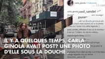 PHOTO. Carla Ginola, sexy et sans culotte sur Instagram