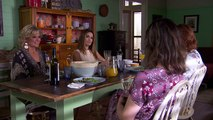 Maggie asks Leah what her history is    Leah divulges - Home and Away
