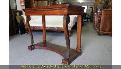 Console direttorio Emiliana 1820 in...