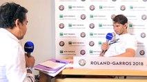 """Nadal : """"je me sens très aimé, chouchouté"""" à Roland-Garros"""
