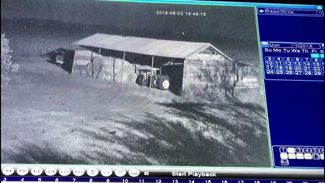 Meteorun düşme anı kamerada