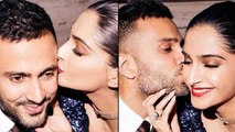 Sonam Kapoor & Anand Ahuja Kiss each other at Poonawala's Party, Photo goes Viral। FilmiBeat