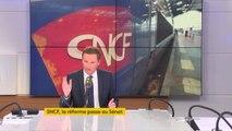 """SNCF : """"Les Français vont payer très cher cette réforme. (...) Je regrette cette ouverture européenne à la concurrence, qui est une fausse concurrence"""", juge Nicolas Dupont-Aignan #8h30politique"""