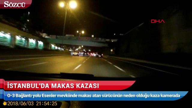 İstanbul'da makas kazası