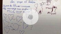 """""""Mes papas, je vous aime"""" : Marc-Olivier Fogiel dévoile les dessins et mots doux de ses filles"""