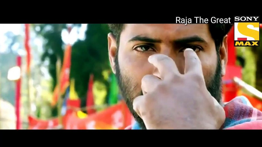 Ravi Teza New South Indian Hindi Dubbed Movie Trailers--Raja The Great --2018