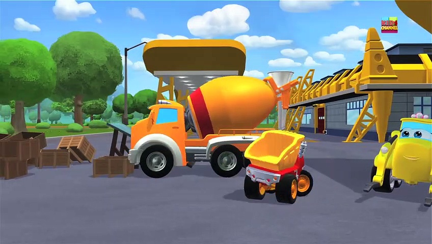 Chuck And Friends   Fort Chuck   Cartoon Trucks   Kids Toys   Cars Cartoon   Videos For Children , Tv series hd videos season 2018