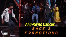 """Anil ,  Remo Dances Heart out ,  poses with Farah Khan
