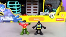 Batman And Robin Imaginext Batcave Stop Motion Adventure. DC Super Friends Imaginext Batman Toys , Tv series hd videos season 2018