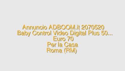 Baby Control Video Digital Plus 50...
