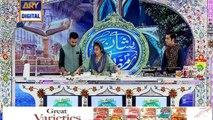 Shan e Iftar – Segment – Shan-e-Dastarkhawan –(Chicken mozzarella sticks) - 5th June 2018