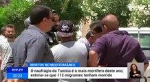 Dois naufrágios no Mediterrâneo fizeram 57 mortos