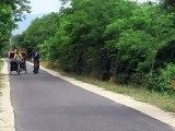 Carpentras : un nouveau tronçon de la Via Venaissia inauguré ce mardi matin