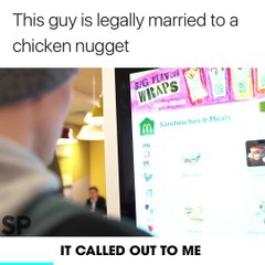 This Guy Is Legally Married To A Chicken Nugget