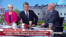 Melber On Trump's Self-Pardon Claim: Pardons Are For Criminals   The Beat With Ari Melber   MSNBC