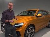Audi Q8 (2018) : vidéo de présentation en studio