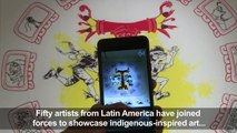 Cartoonists 'rescue' indigenous tradition through art