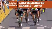Last kilometer - Étape 2 / Stage 2 (Montbrison / Belleville) - Critérium du Dauphiné 2018