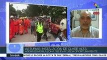 Asturias: Sistema de prevención de Guatemala fracasó rotundamente