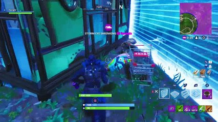 Riding in Style - New Fortnite Shopping Cart