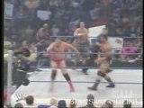 Batista & bobby lashley & john cena vs booker t & .. part 1