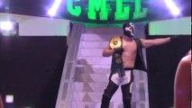El Cuatrero (c) vs. Angel de Oro CMLL World Middleweight Title Match Best Two Out Three Falls CMLL Super Viernes
