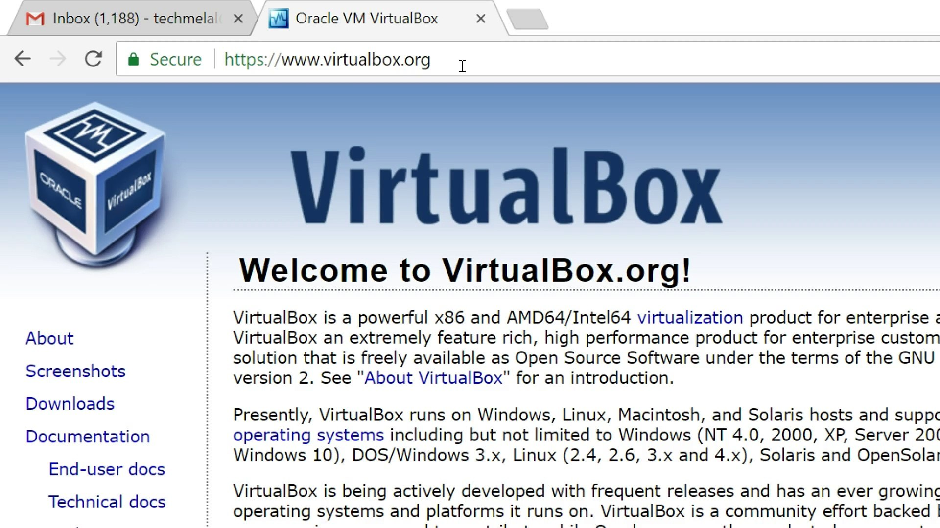 How to Download and Install VirtualBox in Windows 10 (2018)?